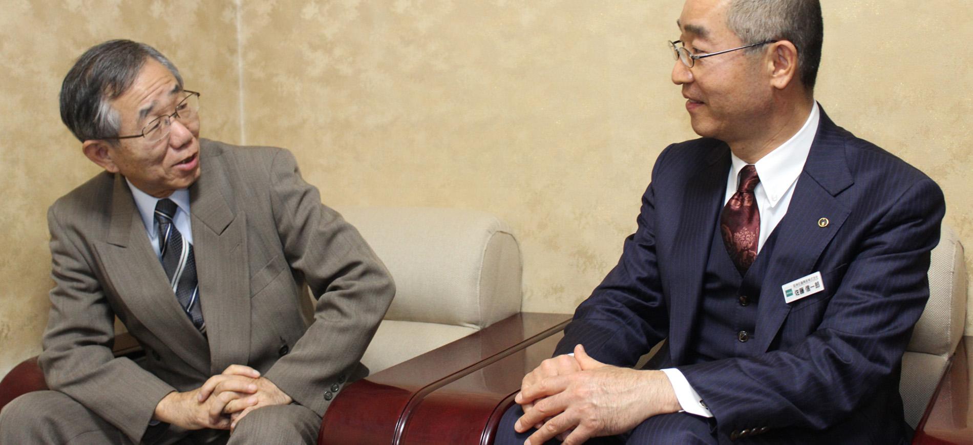神戸老人ホーム 理事・統括施設長様と対談
